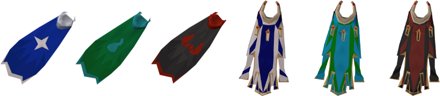 Imbued god capes